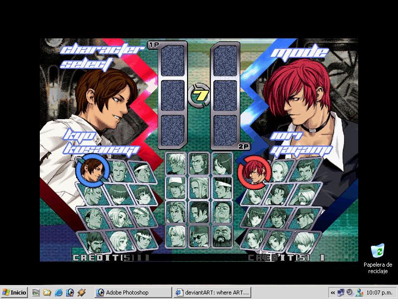 KOF - Desktop 800x600 by Clan-Yagami