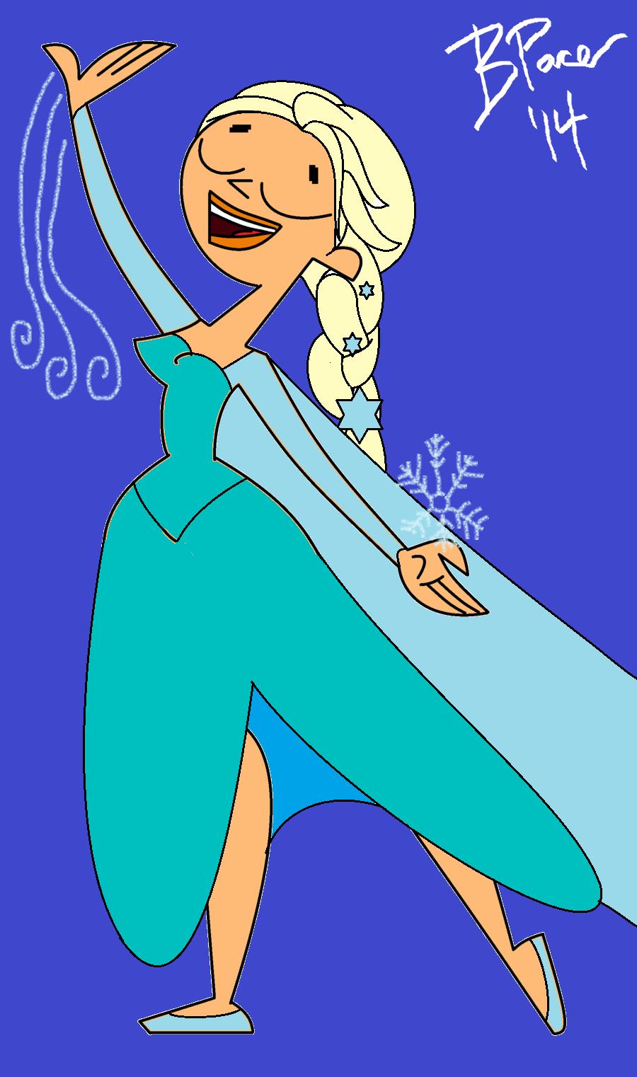 Elsa In TDI Form by ZakBagansTDI on DeviantArt