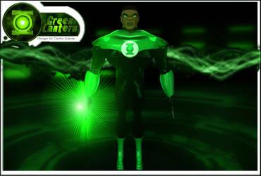 Green Lantern by charlesfrd