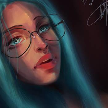 Portrait/Lighting Practice : PSD by SKetch39