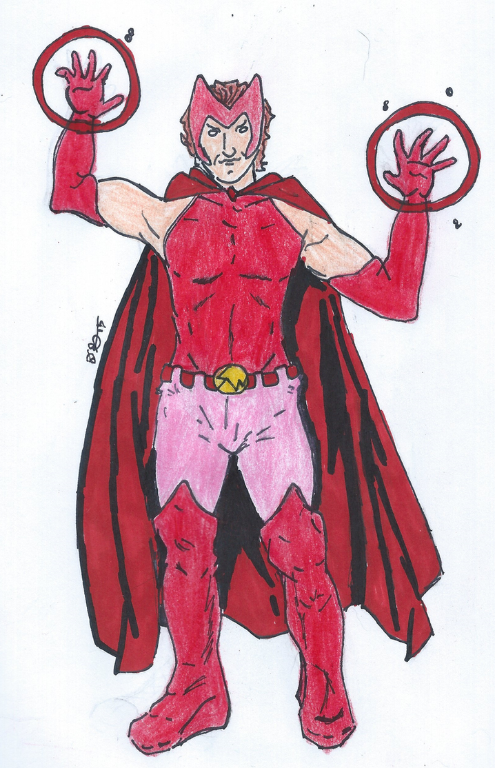 X-Art Jam Rule 63:  Scarlet Witch by IronAvenger6491