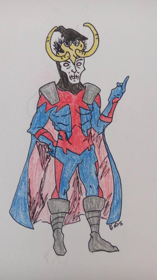 DRAW ME A MARVEL JAM III: APOCALYPSE NOW! - Loki by IronAvenger6491