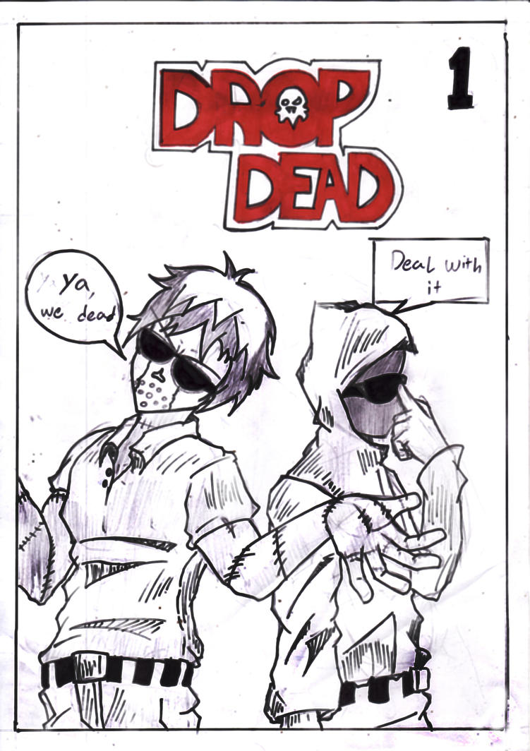 drop dead cover by ghost-in-hood on DeviantArtDrop Dead Clothing Ghost