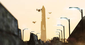 Washington Monument Destroyed by DrunkenBee