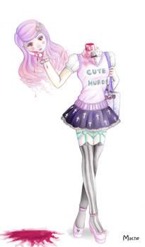 Pastel Goth Girl II