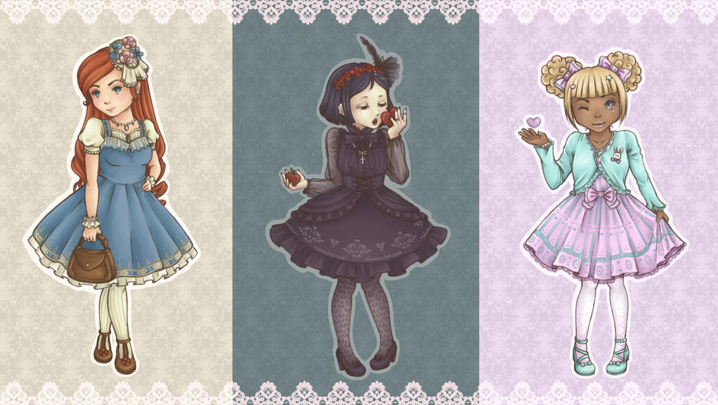 Loli-stickers! by Winter-moon-laidy