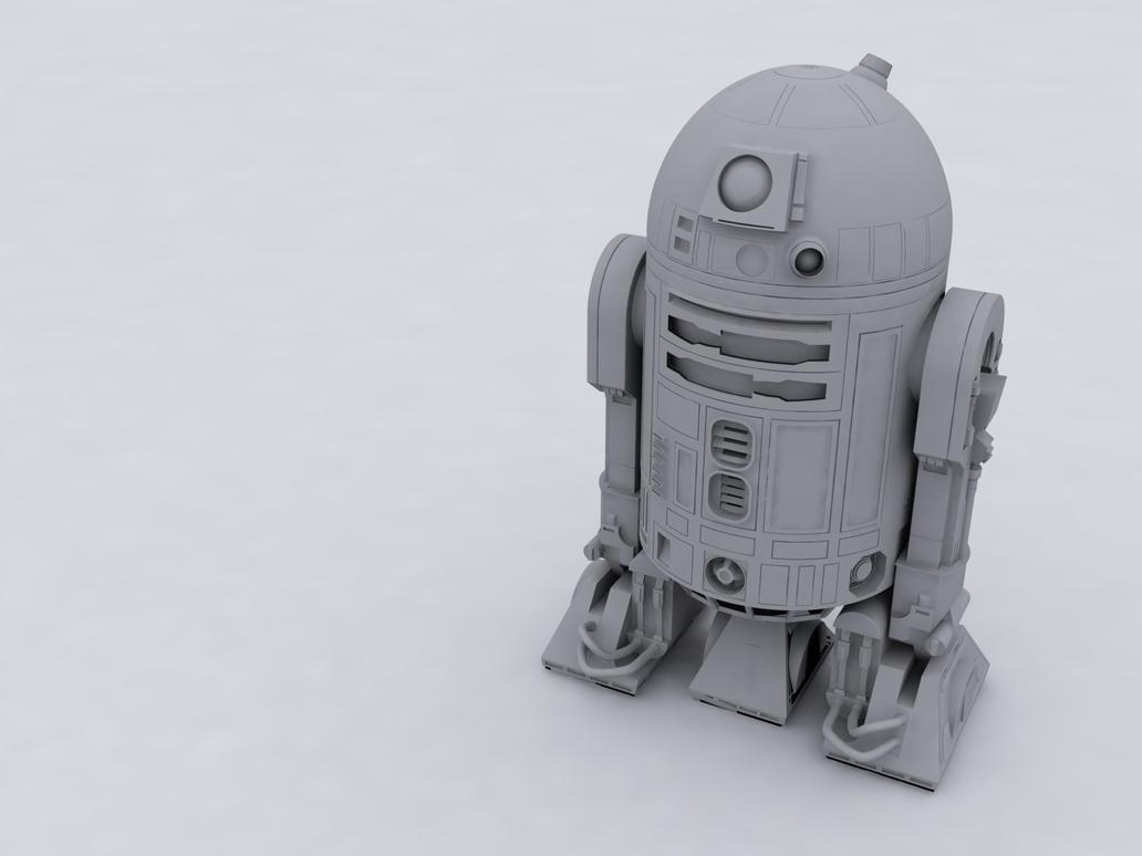 R2D2 by BeBz