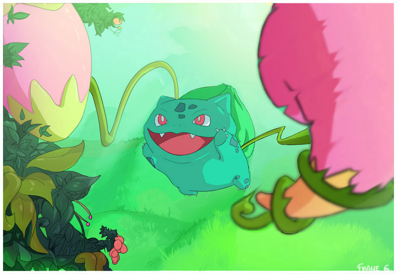 Bulbasaur - The Berry Lover by SirOpacho