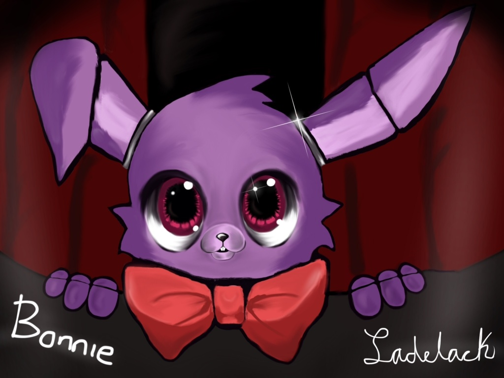 Bonnie bunny five nights at freddy s by sam ladelack on deviantart