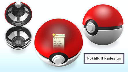 PokeBall Redesign Concept