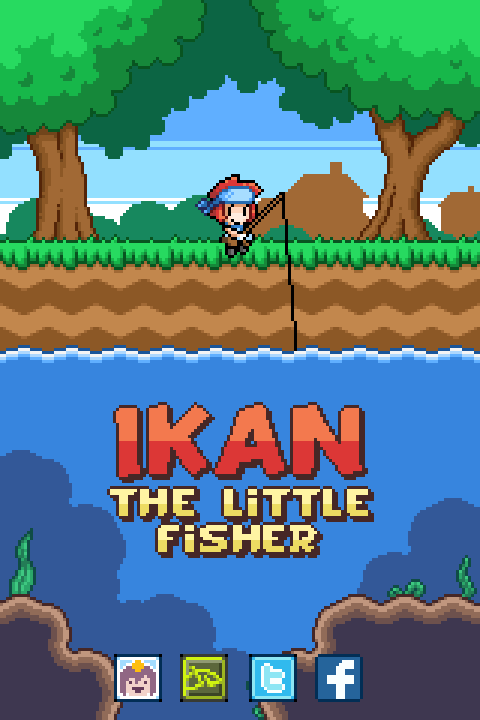 Ikan Title Screen by AdventureIslands