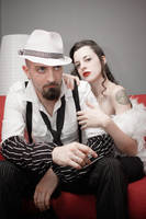 Gangster Story_The Couple by TheOuroboros