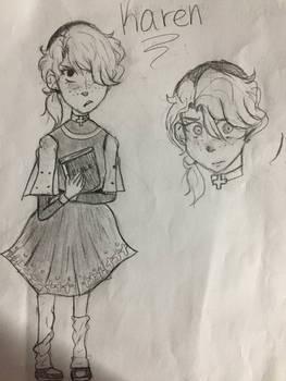 Random Character Design- Karen