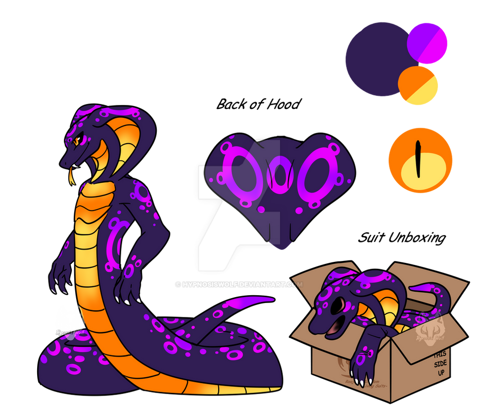 Blind Box Naga (Evroxt) by HypnosisWolf on DeviantArt