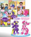 [COM] Rubber Pony Jester TF/TG Comic