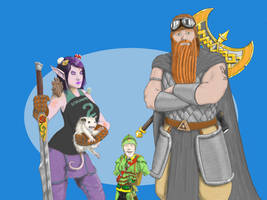 Fanart for Not Another DnD Podcast