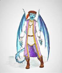 Winged Tiefling Divine Soul 2