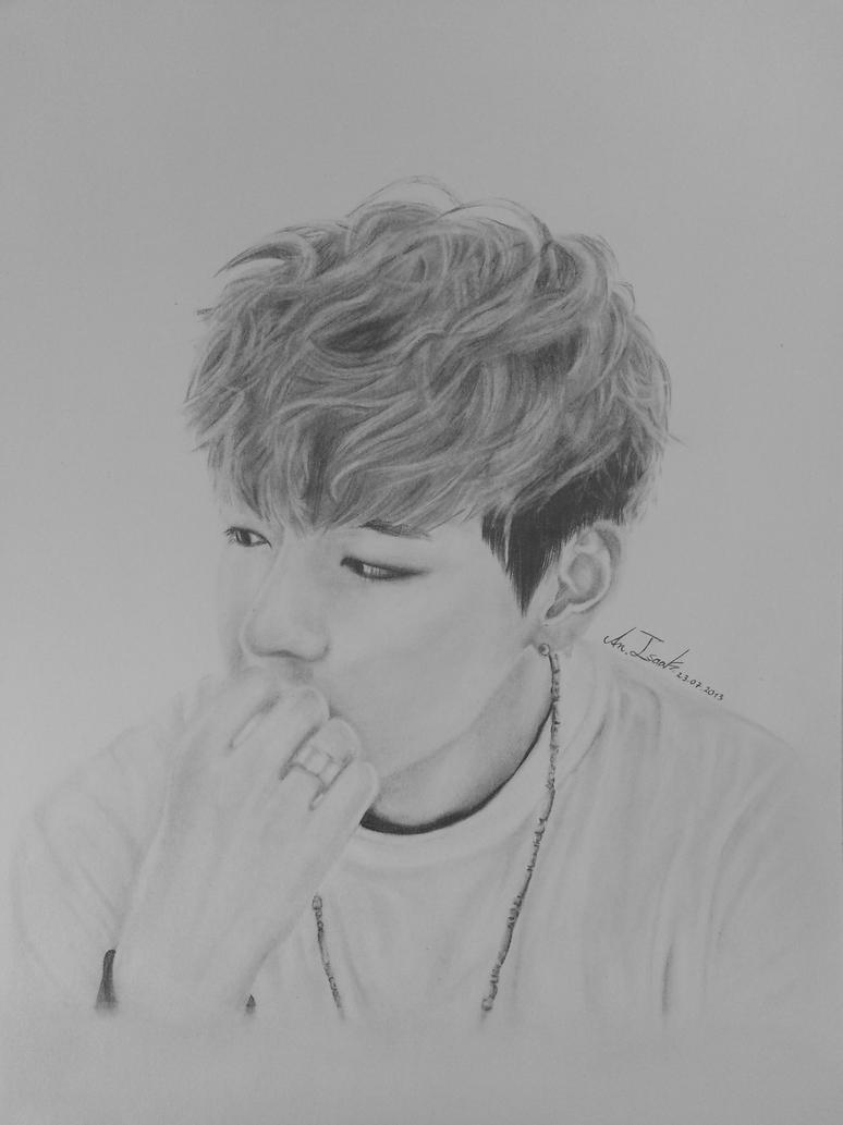 BTS Kim Tae Hyung By IamGii On DeviantArt