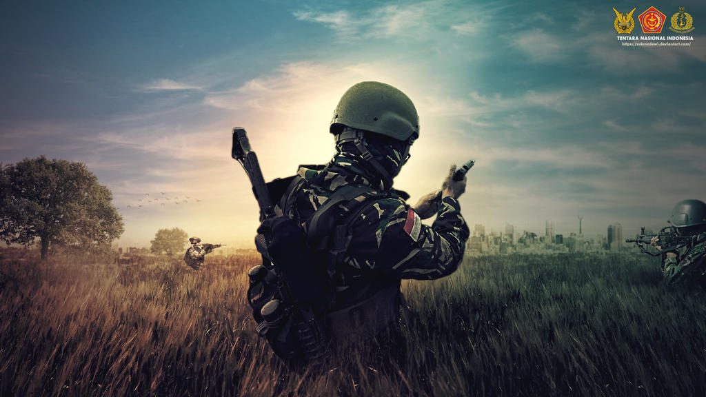 Indonesian Army TNI HD Wallpaper 1080p by sukmadewi ...
