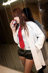 Cosplay-Makise Kurisu