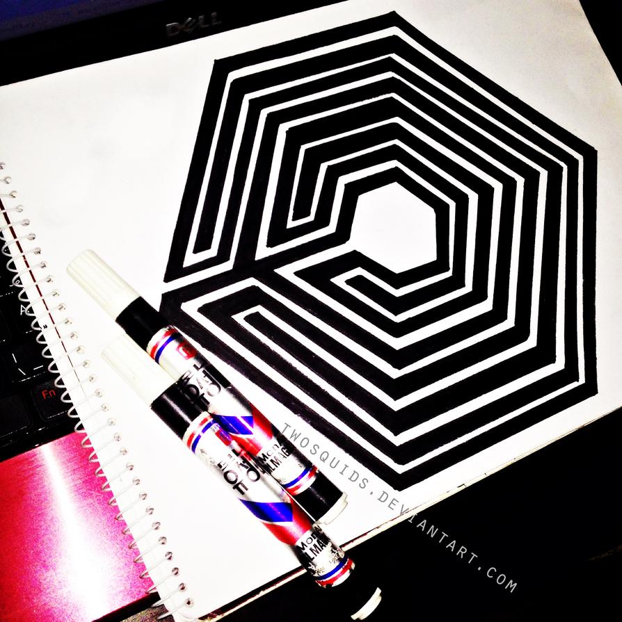 exo overdose logo wallpaper wwwimgkidcom the image