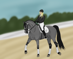 FA Dressage Competition - Arcanthus