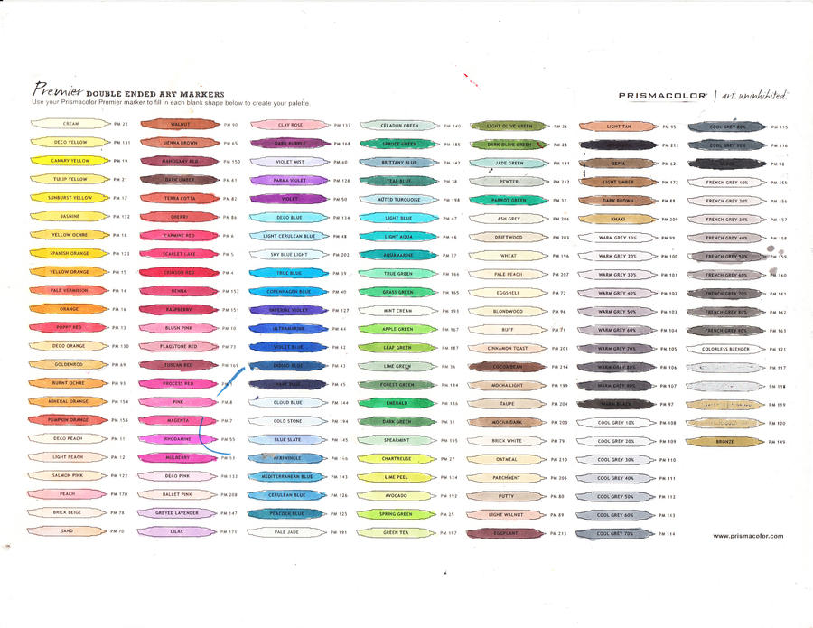 Color Conversion Chart For Acrylic Paints
