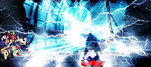 Magneto's electric skull