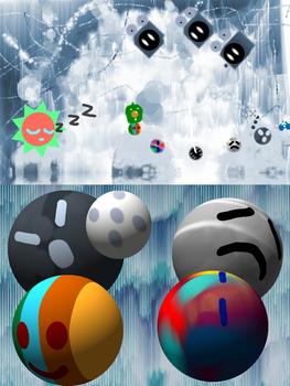 Planetball 3- Polar Floes