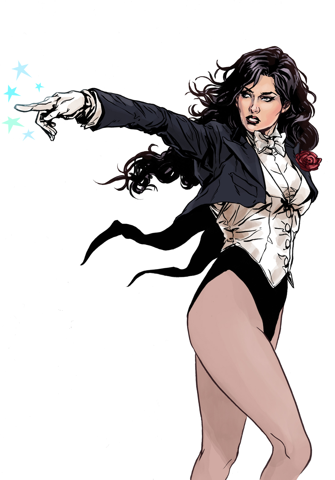 Zatanna mistress of magic by MarcLaming