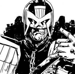 DSC Judge Dredd by MarcLaming