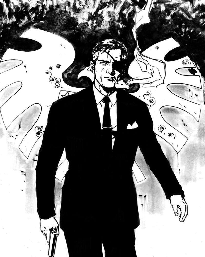 DSC Nick Fury by MarcLaming
