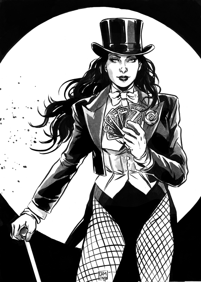 Zatanna commission by MarcLaming