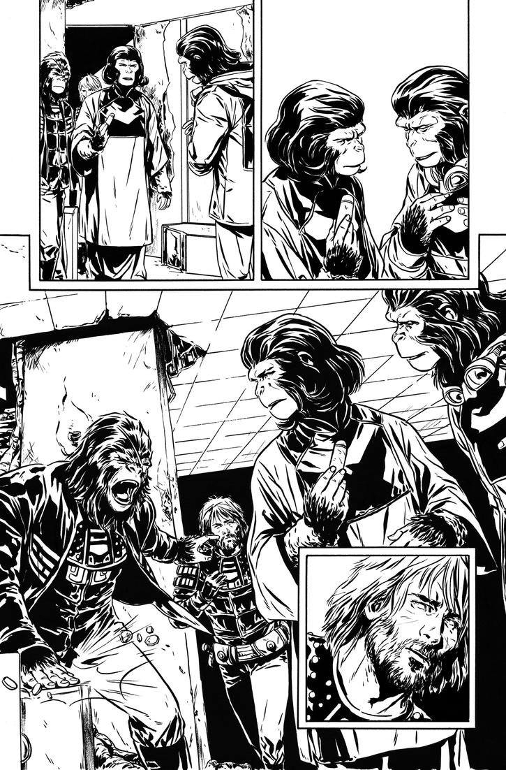 Exile on the POTA issue 3 inks 2 by MarcLaming
