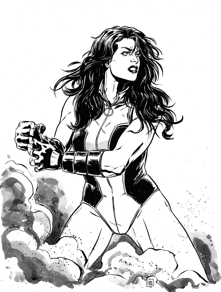 She Hulk commission by MarcLaming on DeviantArt