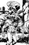 SpiderMan vs Kraven The Hunter inks