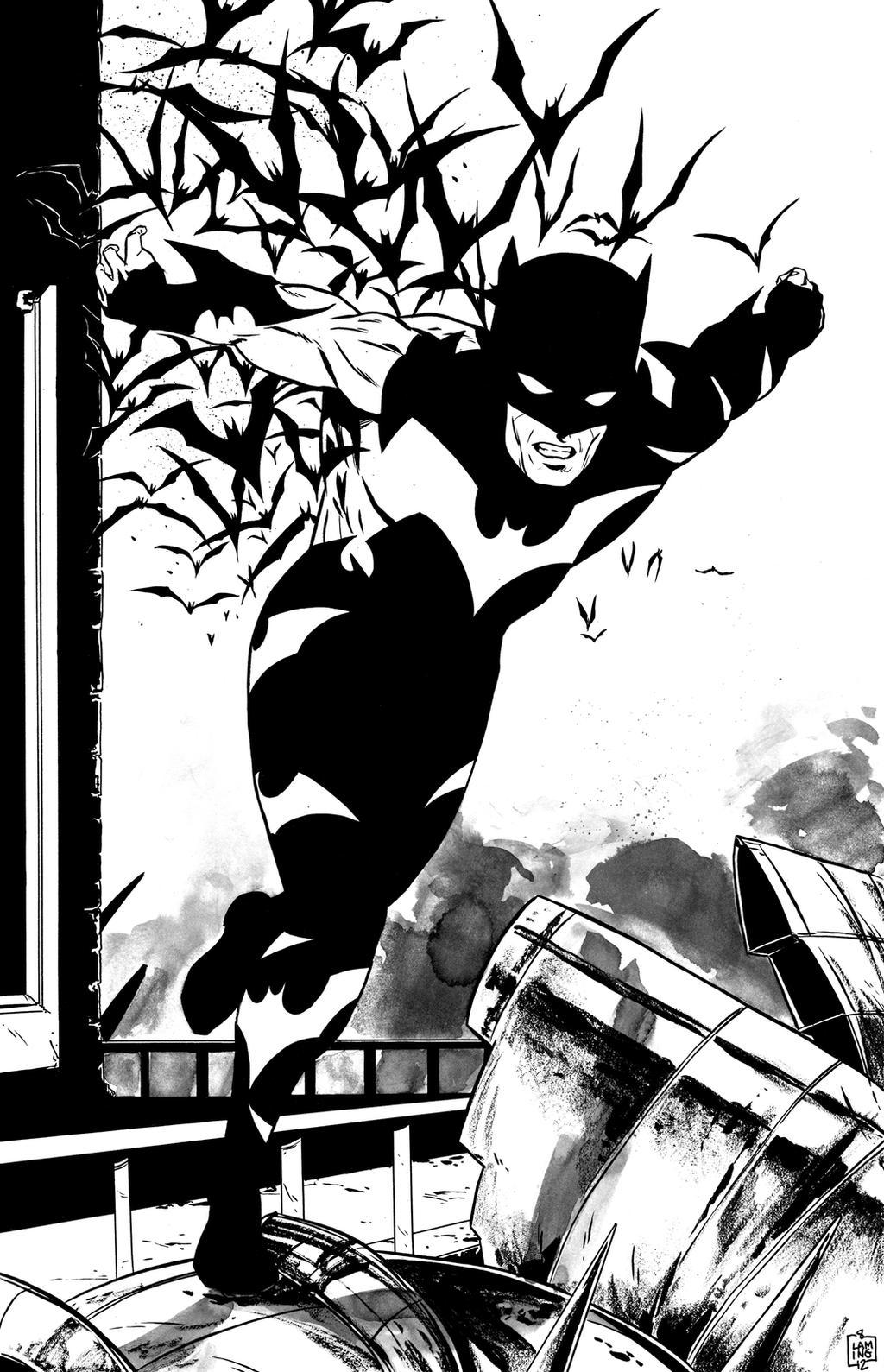 BATSMAN inks by MarcLaming