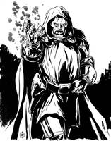 Dr Doom inks by MarcLaming