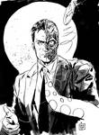 Two Face convention sketch