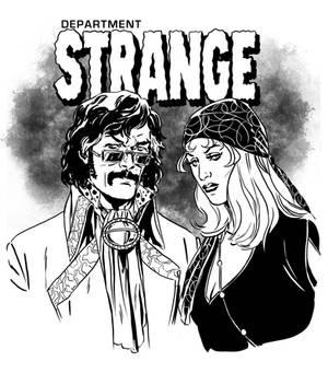 Stephen and Clea of Dept STRANGE