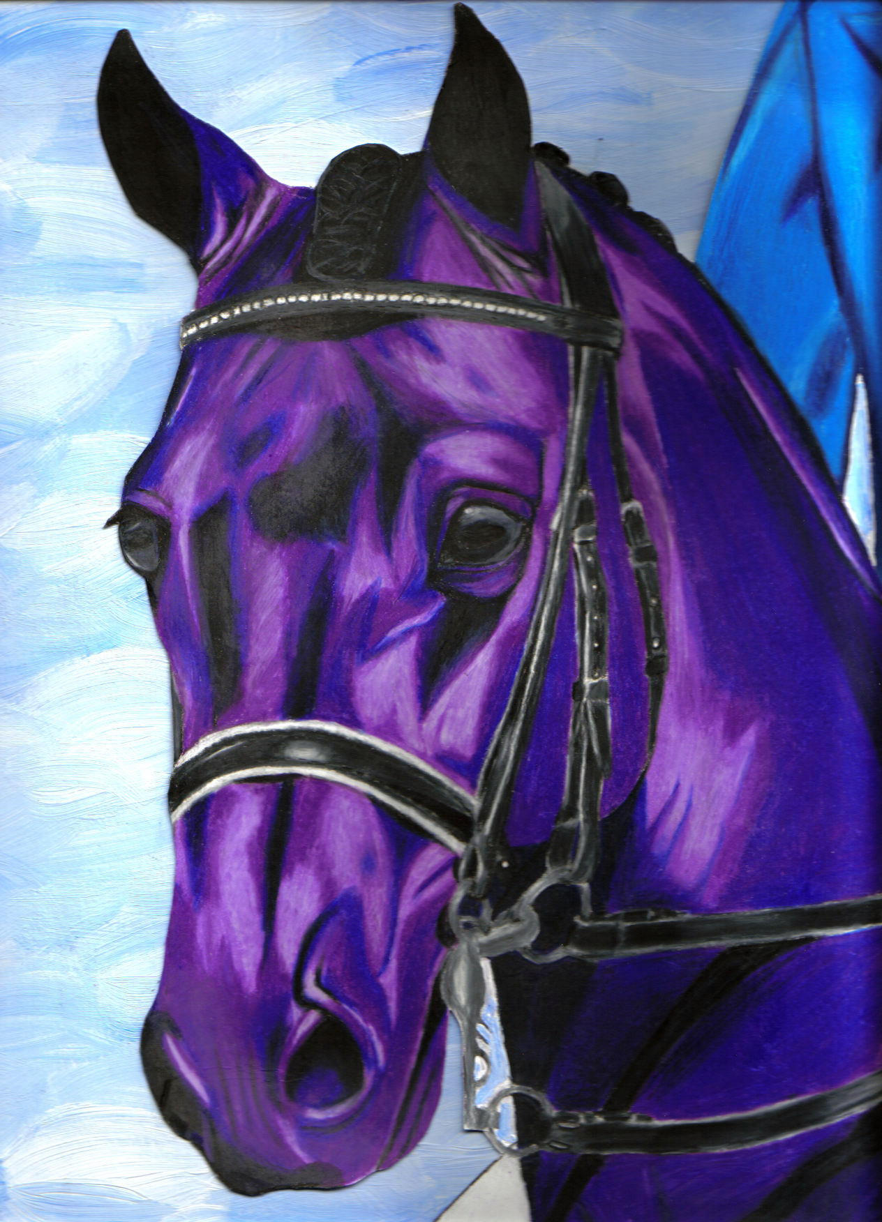 Displaying 18> Images For - Purple Horse...