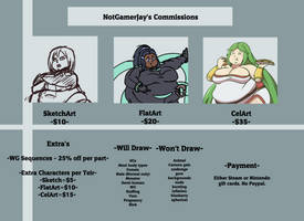 NotGamerJay's Commissions ---Open---