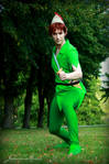Peter Pan: Come on, old codfish by Jake-Peter-Pan
