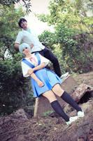 Shinji/Rei: First and Third Child by Jake-Peter-Pan