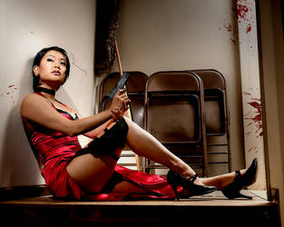 Ada Wong Resident Evil 4 Cosplay by leenisabel