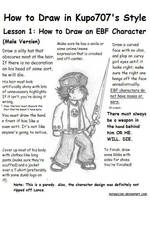 How to Draw an EBF Character