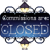 Commissions Closed Button by Arlyis