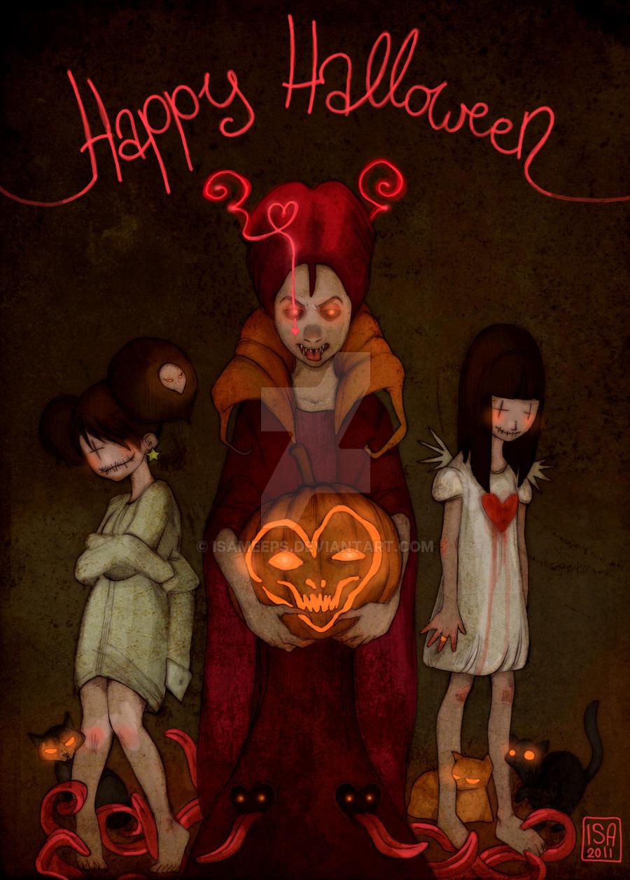 Happy Halloween by IsaMeeps
