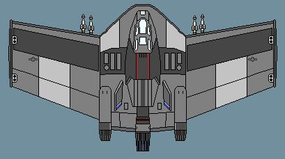 FB-302 Medusa Space Strike Fighter by Autofire1979