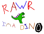iScribble Dragon Goes RAWR by mikyway